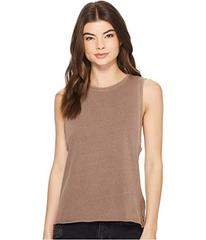 Hurley Washed Biker Tank Top