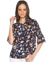 ROMEO & JULIET COUTURE Floral Print Tie Up Front T