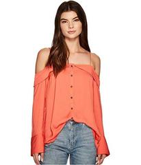 Free People Walk This Way Button Down