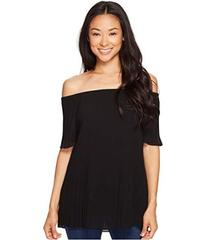 MICHAEL Michael Kors Pleated Off Shoulder