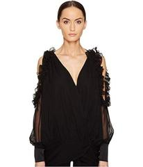 THOMAS WYLDE Bluebell Cold Shoulder Long Sleeve To