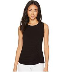 Anne Klein Side Rouched Tank Top