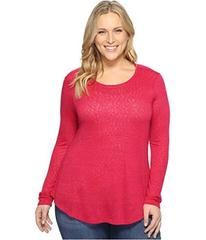 B Collection by Bobeau Plus Size Apple Mixed Media