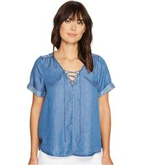 Lucky Brand Lace-Up Top
