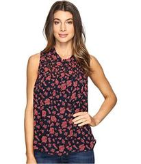Lucky Brand Rouched Yoke Tank Top