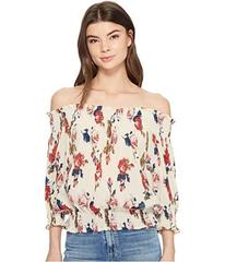 ROMEO & JULIET COUTURE Off the Shoulder Floral Chi