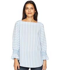 Jones New York 3/4 Sleeve w/ Smocking and Bateau N
