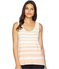 Jones New York Sleeveless High-Low Stripe Tank