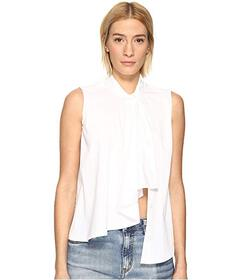 LOVE Moschino Sleeveless Ruffle Top