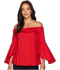 Tahari by ASL Off the Shoulder Blouse with Tulip B