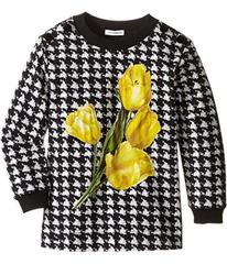 Dolce & Gabbana City Houndstooth Sweater (Toddler/