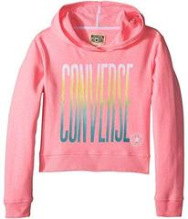 Converse Ombre Cropped Pullover Hoodie (Big Kids)