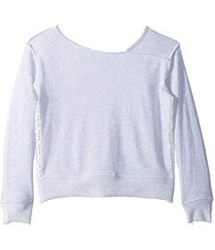 Splendid Littles Sweatshirt w/ Lace (Big Kids)