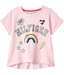 Tommy Hilfiger Patch Tee (Big Kids)