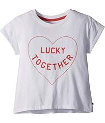 Lucky Brand Luna Graphic Tee (Big Kids)