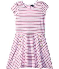 Tommy Hilfiger Yarn-Dye Stripe Dress (Big Kids)
