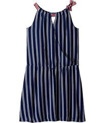 Tommy Hilfiger Wrap Drop Waist Dress (Big Kids)