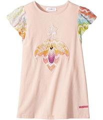 Missoni Embroidered Patch Dress (Toddler/Little Ki