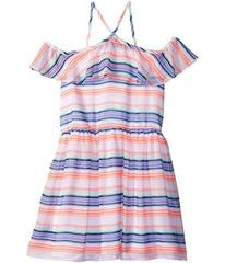 Tommy Hilfiger Printed Multi-Stripe Dress (Big Kid