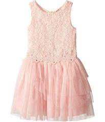 Nanette Lepore Lace Dress with Tulle and Flowers (