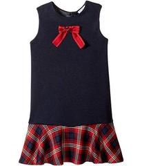 Dolce & Gabbana Back to School Plaid Dress (Toddle