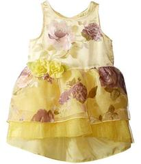 Nanette Lepore Printed Organza w/ Tulle Dress (Inf