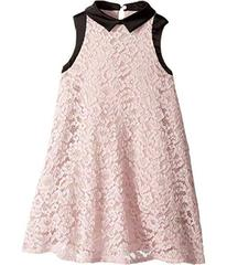 Lanvin Sleeveless Lace Dress with Contrast Trim (L