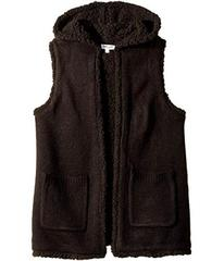 Splendid Littles Hooded Sherpa Vest (Big Kids)