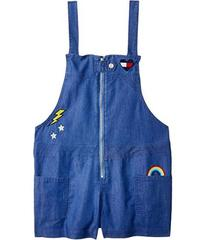 Tommy Hilfiger Zip-Up Denim Romper (Big Kids)