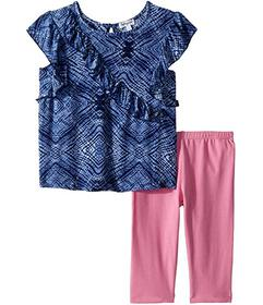 Splendid Littles Ruffle Voile Top Set (Toddler)