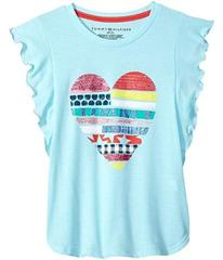 Tommy Hilfiger Heart Tee (Big Kids)
