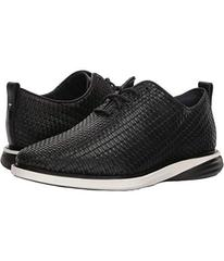 Cole Haan Black Woven Leather/Ivory/Black