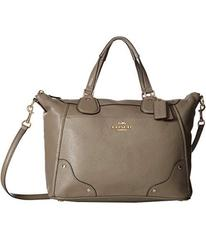 COACH Grain Leather Mickie Satchel
