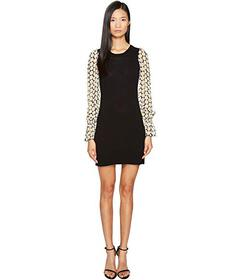 LOVE Moschino Daisy Sleeve Knit Dress