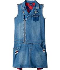 Tommy Hilfiger Denim Moto Dress (Big Kids)