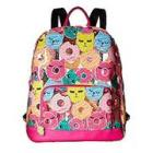 Luv Betsey by Betsy Johnson Cat Clear Backpack