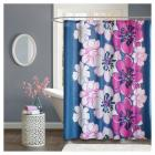 Floral Shower Curtain Flashbulb Fuchsia