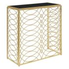 Gold Coast Tranquility Console Table Gold/Black Gl