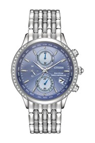 Citizen Women's Eco-Drive World Chronograph A-T Di