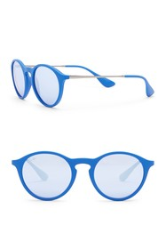 Ray-Ban Youngster 49mm Round Sunglasses