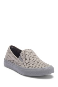 Sperry Seaside Nautical Perforated Leather Slip-On