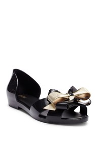 Melissa Seduction III Peep Toe Flat