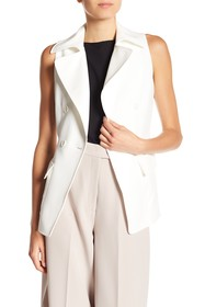 Anne Klein Double Breasted Vest