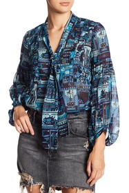 Anna Sui London Underground Blouse