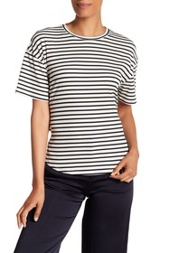 Rebecca Minkoff Lily Ribbed Knit Tee