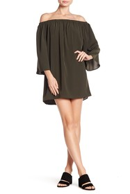 French Connection Polly Off-the-Shoulder Dress