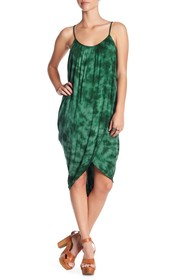 Green Dragon Crystal Forest Genvieve Cover-Up Dres