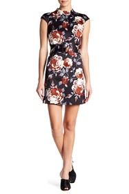 Theory Mod Belted Floral Dress
