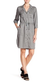 French Connection Woven Shirt Dress