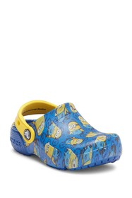 Crocs Funlab Minions Graphic Clog (Toddler)